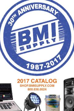 BMI Supply 2017 Catalog Cover