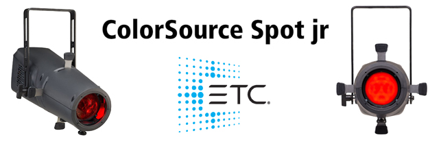 ETC ColorSource Spot JR Banner