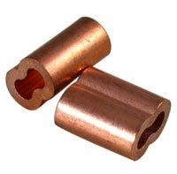 "1/16"" Copper Swage Sleeves 10/Pk"
